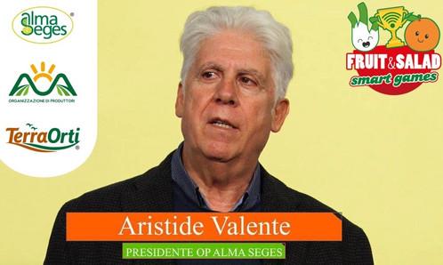 FRUIT AND SALAD SMART GAMES, L'INTERVENTO DI ARISTIDE