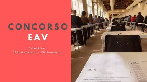 CONCORSO EAV, 320 DIPLOMATI E 30 LAUREATI CHIEDONO RISPOSTE SULLE ASSUNZIONI