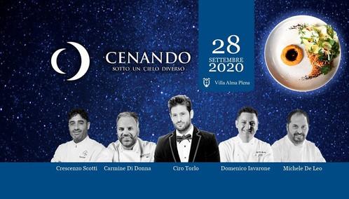 CENANDO SOTTO UN CIELO DIVERSO EDIZIONE 2020