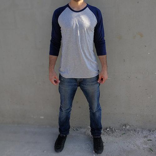חולצה אמריקאית צווארון עגול