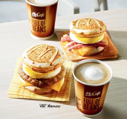 「黎到日本都要食麥當勞?」-必食McGriddles <鬆餅Burger>