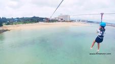 沖繩必玩新景點▸飛天越海繩索 PANZA MegaZIP 詳細介紹篇 沖繩行程GIVEAWAY  自由行 自駕遊 | VF Memoir