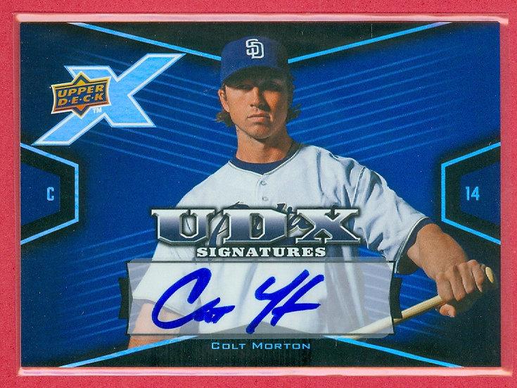 """""""Colt Morton"""" SP RC AUTOGRAPH CHASE CARD #CM"""