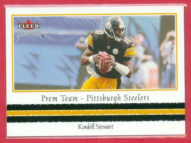 Kordell Stewart 2002 FLEER PREMIUM CHASE CARD #8PT