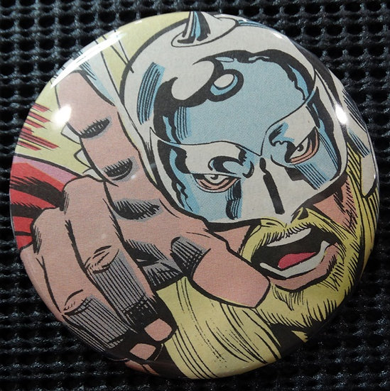 """The MIGHTY THOR"" POP CULTURE 3"" PINBACK/PIN-BACK COMIC BUTTON"