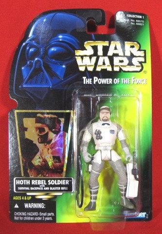 """Hoth Rebel Soldier"" STAR WARS ACTION FIGURE"