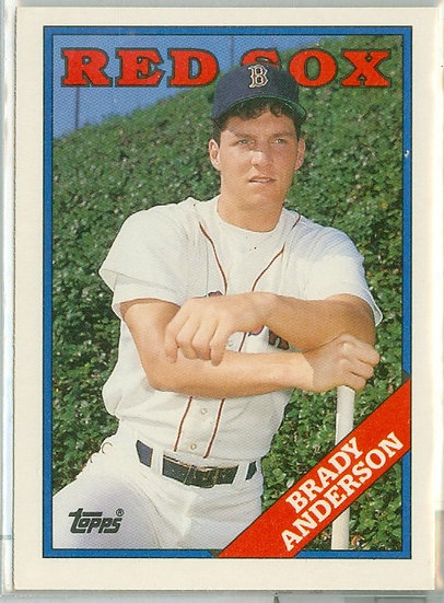 """1988 TOPPS TRADED """"Brady Anderson"""" RC Card #5T"""