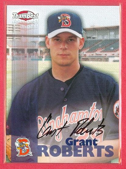 """Grant Roberts"" TEAM BEST SP RC AUTOGRAPH CARD"