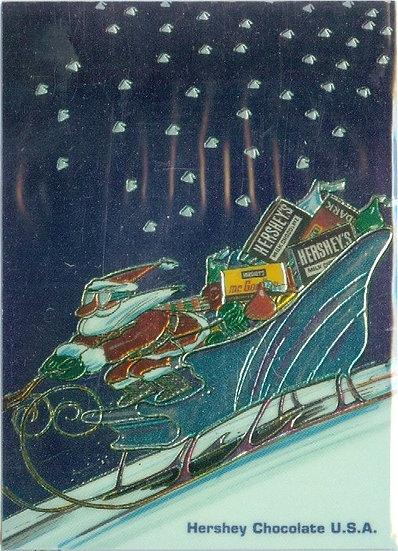 "1995 HERSHEY'S SERIES SP ""CHROME"" INSERT CARD #C6"