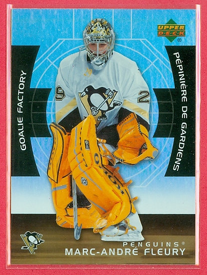Marc-Andre Fleury UD/McDONALD's CHASE CARD #GF11
