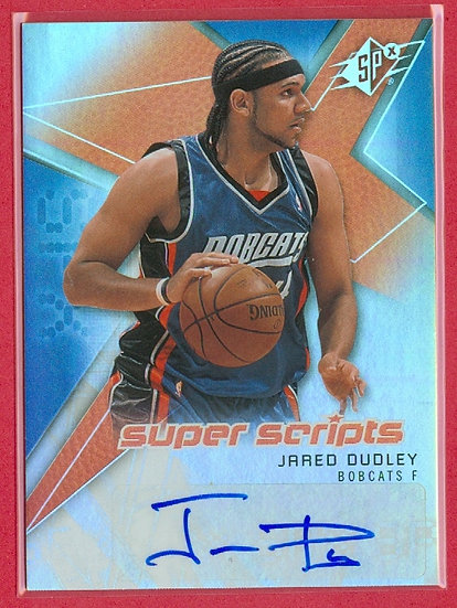 """""""Jared Dudley"""" SP AUTOGRAPH HOLO-FOIL CHASE CARD"""