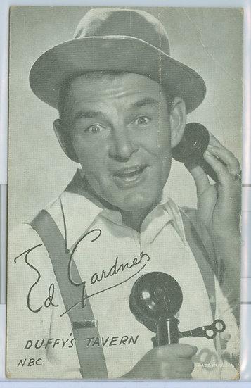 RARE 1931-64 Ed Gardner PENNY ARCADE EXHIBIT CARD