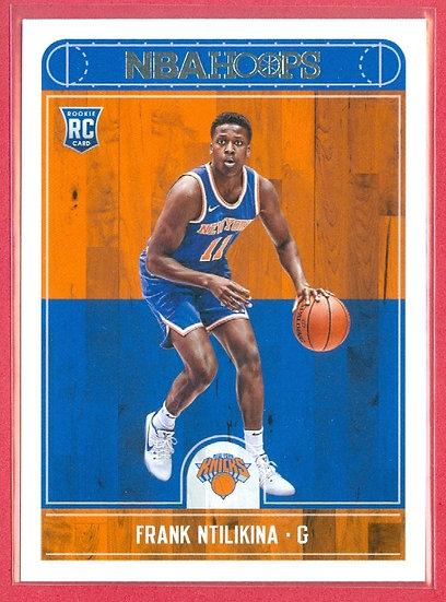 """""""Frank Ntilikina"""" 2017-18 NBA HOOPS RC CARD #258"""
