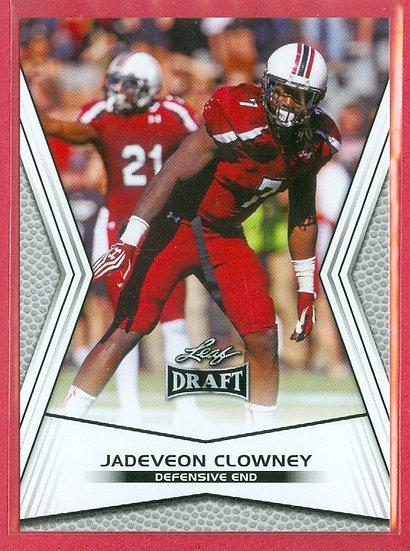 """JaDeveon Clowney"" 2014 LEAF DRAFT COLLEGE RC #JC1"