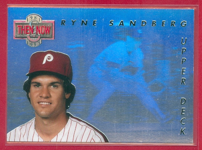 Ryne Sandberg Hofthen Now Hologram Card Tn6 Home Page