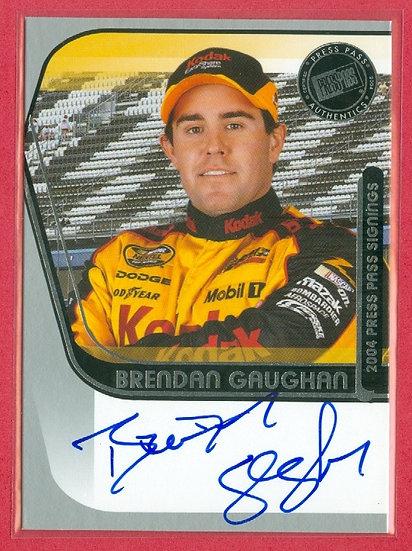 """Brendan Gaughan"" NASCAR SP AUTOGRAPH CHASE CARD"