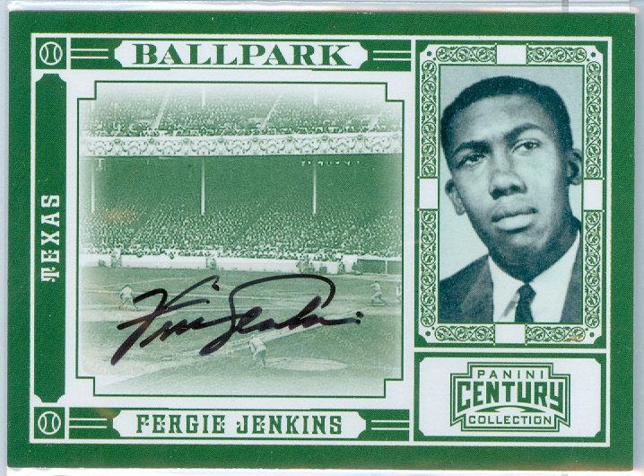 """""""Fergie Jenkins"""" AUTHENTIC AUTOGRAPH #ed 16/35"""