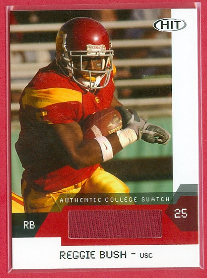 """Reggie Bush"" COLLEGE RC JERSEY CHASE CARD #RBC"