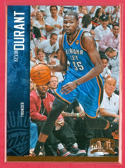 """Kevin Durant"" 2012-13 PANINI THREADS CARD #98"