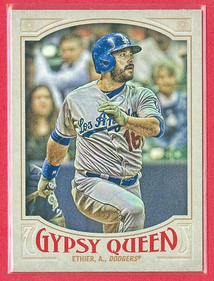 """Andre Ethier"" 2016 TOPPS GYPSY QUEEN CARD #48"