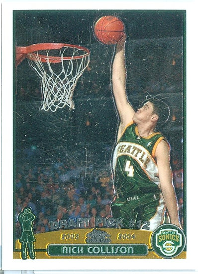 "TOPPS CHROME ""Nick Collison"" ROOKIE/RC CARD #122"