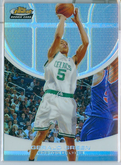 """Gerald Green"" SP REFRACTOR RC CARD #d 084/249"