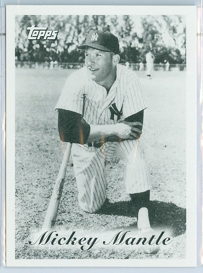 """""""Mickey Mantle"""" SP """"MANTLE'S TEAM"""" Chase Card NYY"""