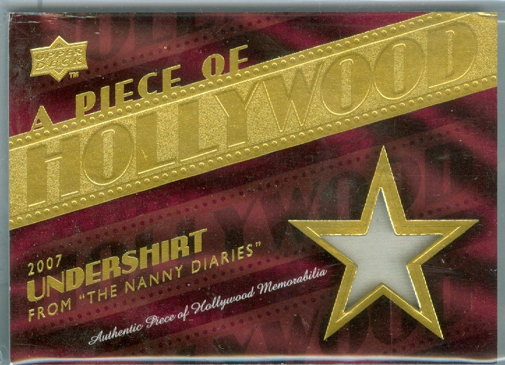 """NANNY DIARIES"" SP HOLLYWOOD RELIC CARD #HM-20"