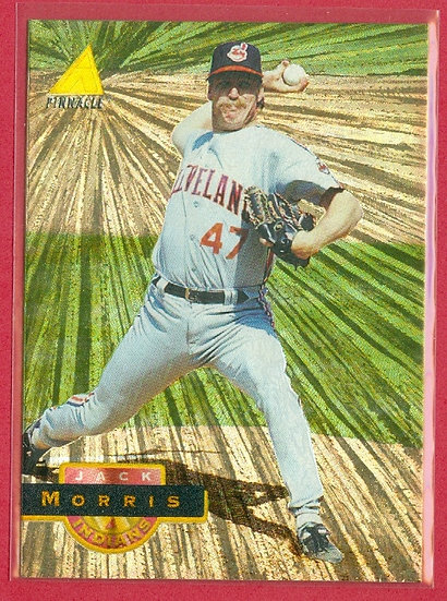 Jack Morris HOF 1997 PINNACLE PARALLEL CARD #532