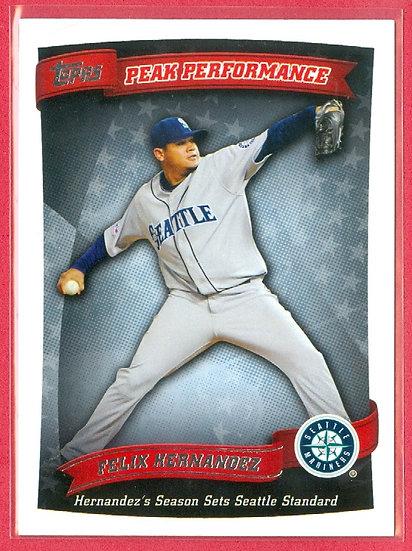 Felix Hernandez 2010 TOPPS BB SP CHASE CARD #PP-56