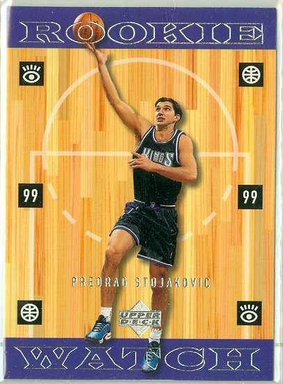 """""""Predrag Stojakovic"""" SP ROOKIE WATCH CARD #331"""