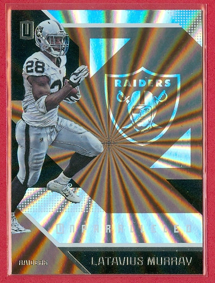 Latavius Murray 2016 UNPARALLELED BRONZE CARD #150