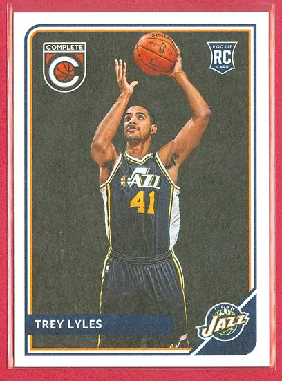 """Trey Lyles"" 2015-16 PANINI COMPLETE RC CARD #324"