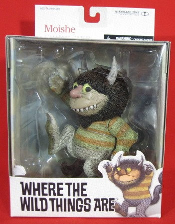 """""""MOISHE"""" WHERE THE WILD THINGS ARE BOXED FIGURE"""