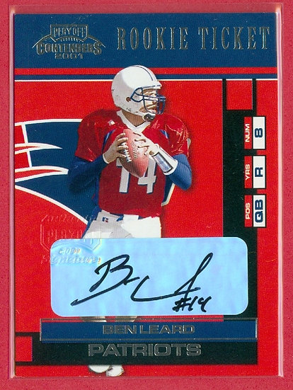"""""""Ben Leard"""" CONTENDERS SP RC AUTO CARD #106"""