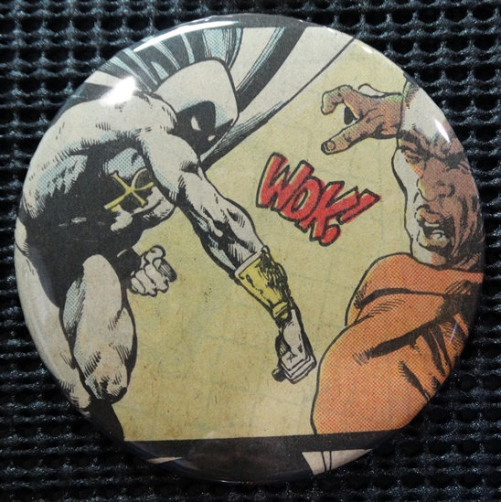 """MOON KNIGHT"" POP CULTURE 3"" PINBACK/PIN-BACK COMIC BUTTON"