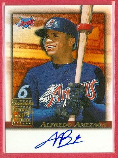 """Alfredo Amezaga"" SP ROOKIE AUTOGRAPH CHASE CARD"