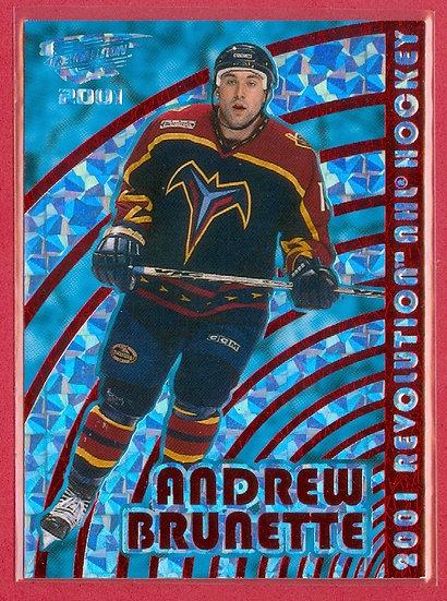 Andrew Brunette PRISM FOIL PARALLEL CARD #d 29/99