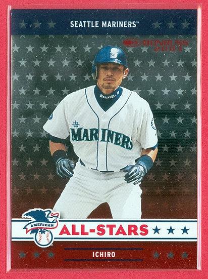 """Ichiro Suzuki"" 2003 DONRUSS FOIL CHASE CARD #AL-1"