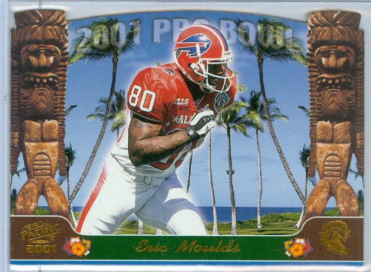 """2001 """"Eric Moulds"""" SP DIE-CUT PRO BOWL CARD #1"""