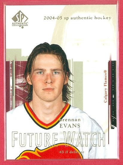 """""""Brennan Evans"""" FUTURE WATCH RC CARD #92"""