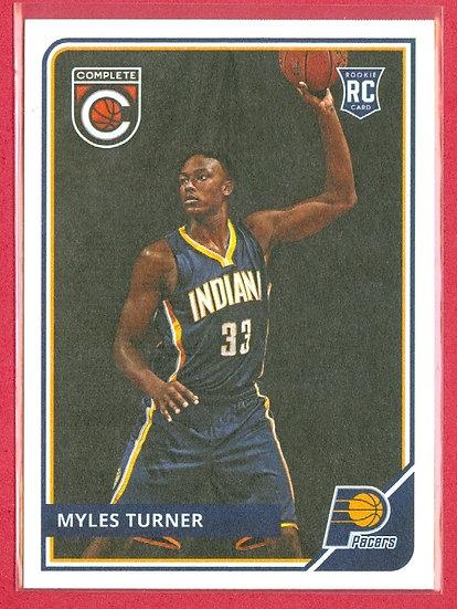 Myles Turner 2015-16 PANINI COMPLETE RC CARD #314