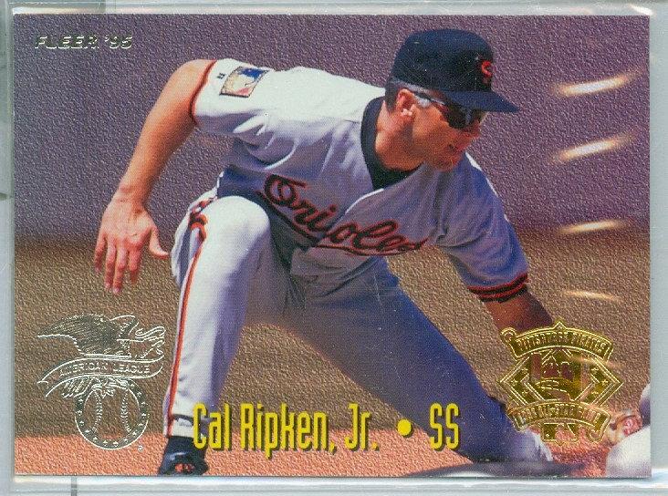 """Cal Ripken Jr./Ozzie Smith"" SP INSERT Card #5"