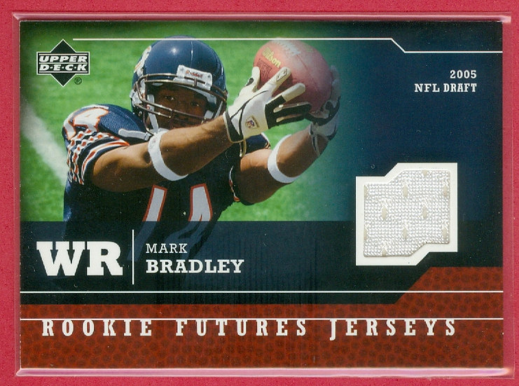 """""""Mark Bradley"""" GAME JERSEY RC CHASE CARD #RF-MB"""