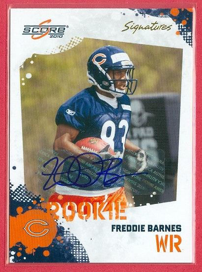 """""""Freddie Barnes"""" SP RC AUTO CHASE CARD #342"""