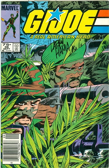 """Larry Hama"" AUTOGRAPHED 1985 ""G.I. JOE"" #39"
