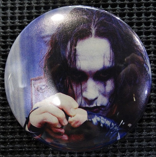 """ERIC DRAVEN The CROW"" POP CULTURE 3"" PINBACK/PIN-BACK COMIC BUTTON"