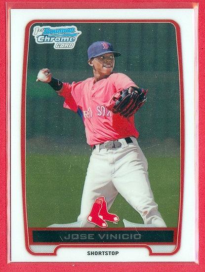 """""""Jose Vinicio"""" 2012 BOWMAN CHROME RC CARD #BCP55"""