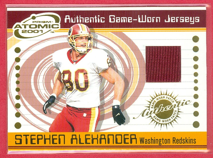 """""""Stephen Alexander"""" SP GAME JERSEY CHASE CARD #99"""