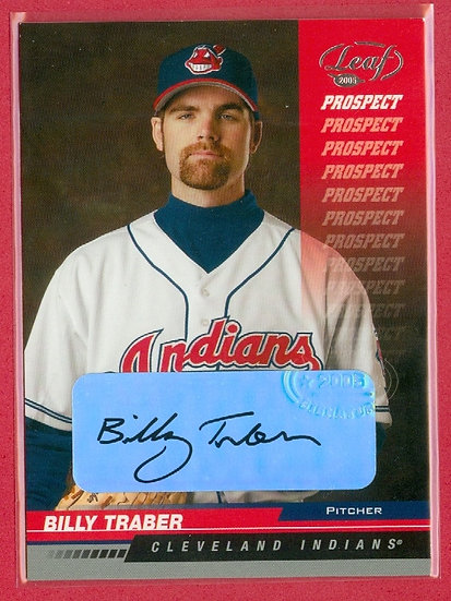 """""""Billy Traber"""" SP RC AUTOGRAPH CHASE CARD #207"""